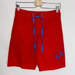 Under Armour Heat Gear Red Men's Shorts